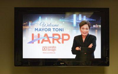 Mayor Toni Harp Night at Peralta Design