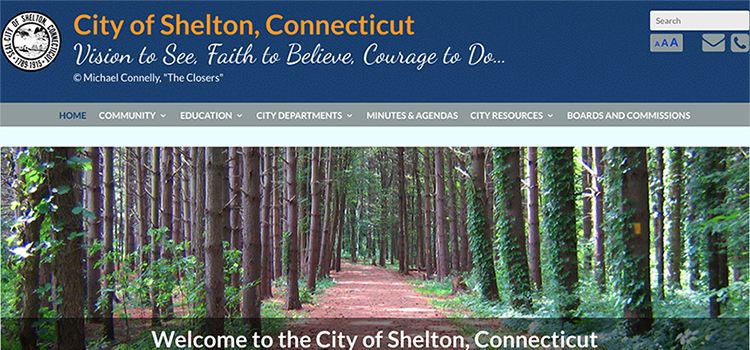 City of Shelton Website New and Improved